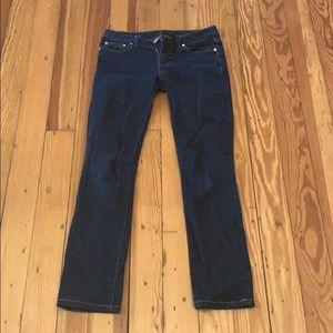 Tory Burch size 25 skinny jeans